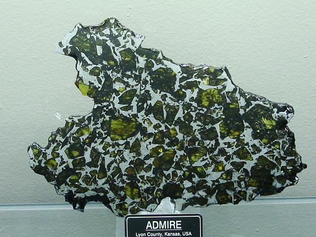 Admire Pallasite Meteorite Collection