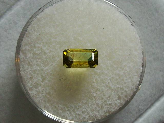Faceted Admire Meteorite Peridot - .87 ct