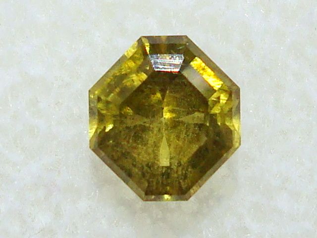Faceted Admire Meteorite Peridot - .65 ct