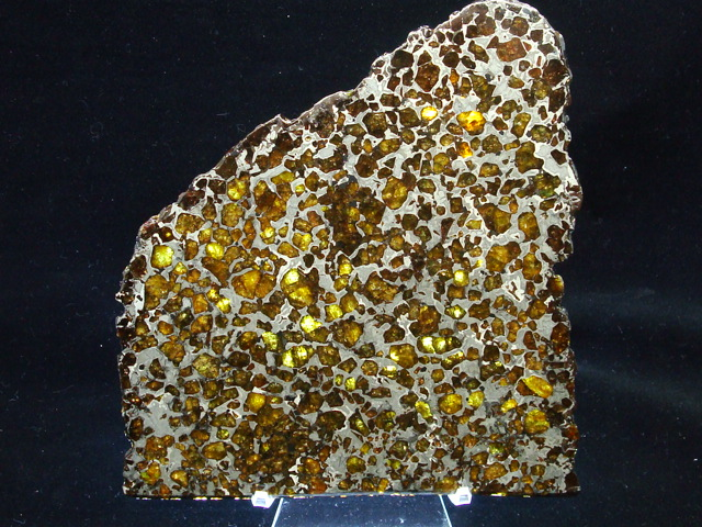 Brahin Pallasite Meteorite Slices for Sale