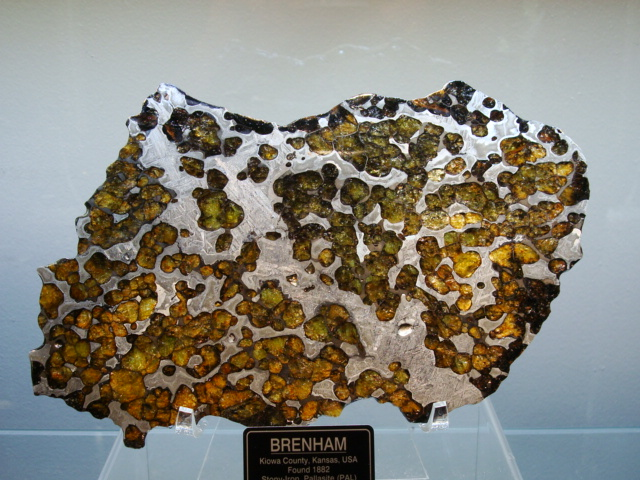 Click here for our Brenham Pallasite Meteorite Collection!