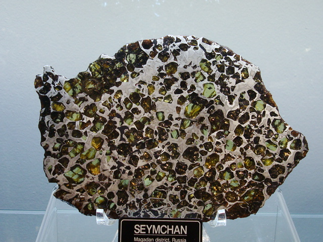 Seymchan Pallasite Meteorite Collection