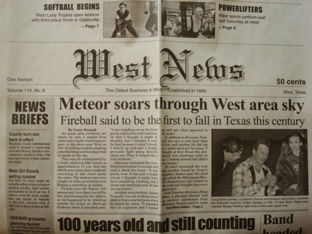 The West New newspapers